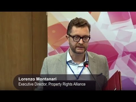 Launch of International Property Rights Index by Lorenzo Montanari